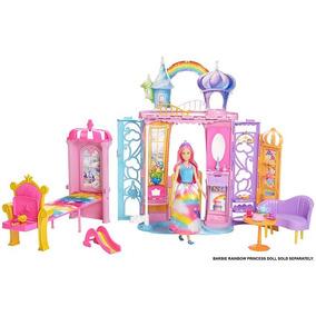 Barbie Dreamtopia Castelo Arco Iris - Mattel - Frb15