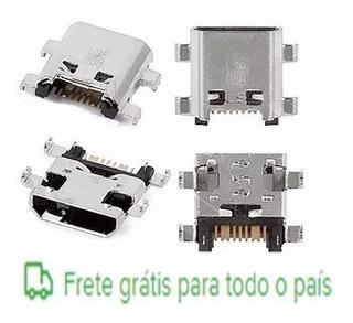 5 Conector Carga Usb Vários Modelos