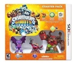 Skylanders: Giants Starter Pack 3ds Nuevo Envio Gratis