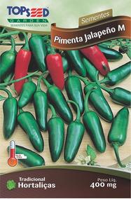 80 Sementes De Pimenta Jalapeno Jalapenho Frete Grátis