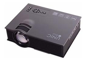 Mini Projetor Uc46 Led Profissional 1200 Lumen Wifi Miracas