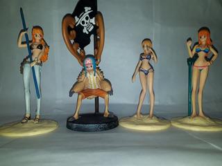 Figuras One Piece Nami, Chopper