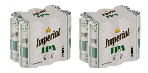 Cerveza Imperial Ipa Lata X473 Pack X 12