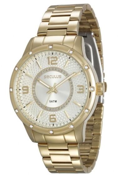 Relógio Seculus Feminino Analógico 28453lpsvds1