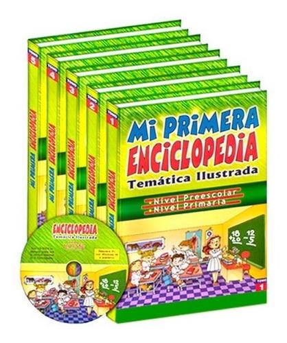 Mi Primera Enciclopedia Temática Ilustrada 5 Vols Con Cd-rom