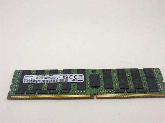 Memória 64gb 4drx4 Pc4 2400t Rdimm Ddr4