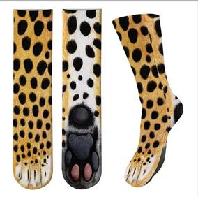 Calceta Pata Leopardo 3d