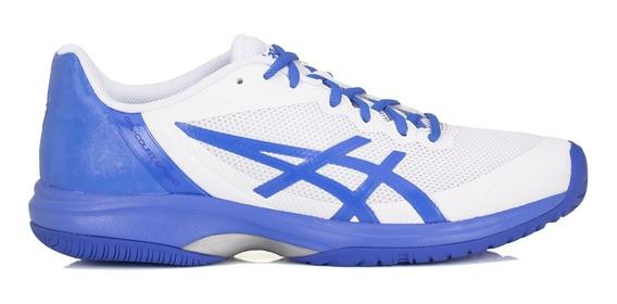 Tênis Asics Gel Court Speed Branco E Azul