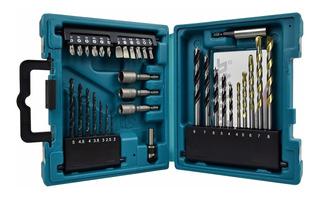 Kit De Brocas Y Puntas Makita D-36980 Multipropósito