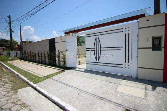 Casa Isolada Em Lote Inteiro, Lado Praia Em Itanhaém - Cod: 135 - V135