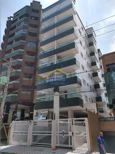 Imagem 1 de 25 de Lindo Apartamento 1 Dorm. Canto Do Forte R$245 Mil - Vsva125