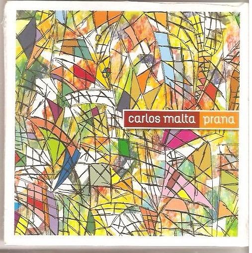 Cd Carlos Malta - Prana ( Instrumental Flauta)caixa Envelope