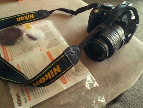 Camera Fotografica Dlsr Nikon 3100