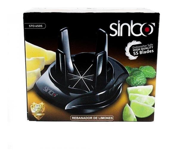 Rebanador Cortador De Limones Y Limas Negro Sto6505 Sinbo