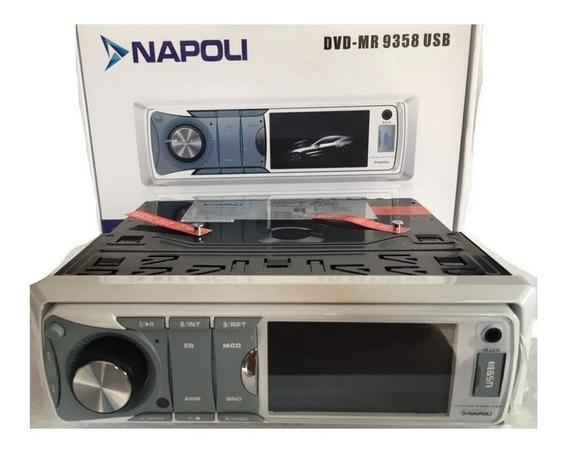 Dvd Marinizado Marítimo Napoli Dvd-mr 9358 Usb Mp4 Am/fm