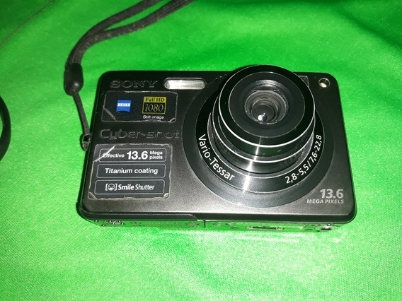 Câmera Sony Dsc-w300 13.6mp Ful Hd No Estado