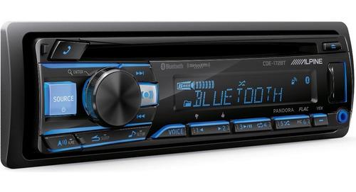 Imagen 1 de 4 de Auto Estereo Alpine Cde-172bt Bluetooth Usb Mp3 + Q Pioneer