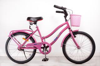 Bicicleta Rodado 20 Full Paseo Exc. Calidad Bb E. Gratis!!!