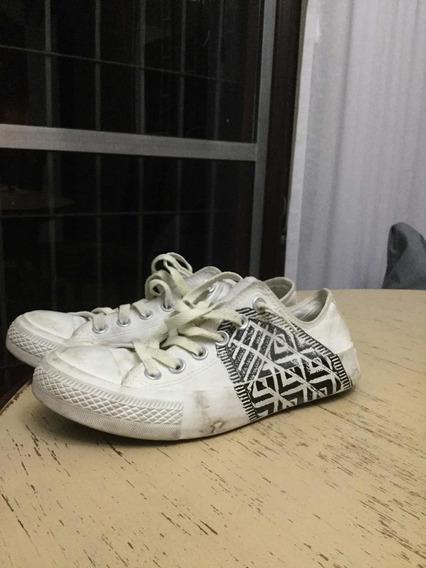 Zapatillas Blancas Negras Converse Blancas All Star