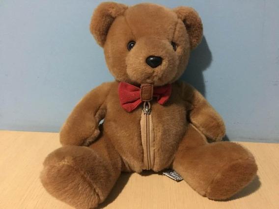 Urso Pelucia Tradicional Esclusivo Marca Russ Importado