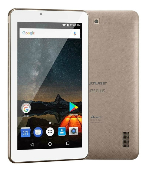 Tablet Multilaser M7s Plus 7 Quadcore 8gb 1gb Câm 2mp Nb276