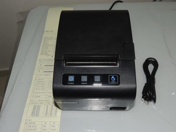 Impressora Não Fiscal Sweda Si-300s Usb/serial