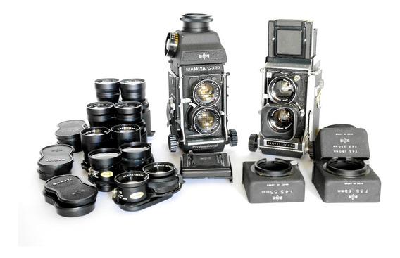 Camera Mamiya C330 E C33 Conj. Completo - Não Despacho!