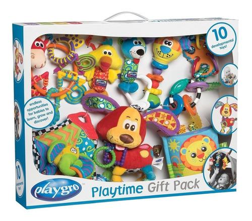 Imagen 1 de 2 de Pack De Regalo Infanti Playtime Texturas Sonidos 10 Pz. +3 M