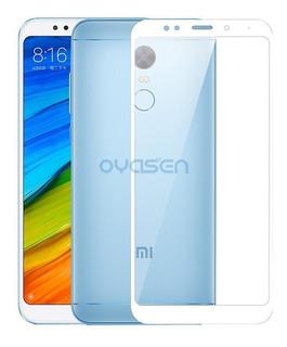 Vidrio Templado Full Cover Para Xiaomi Redmi 5 Plus