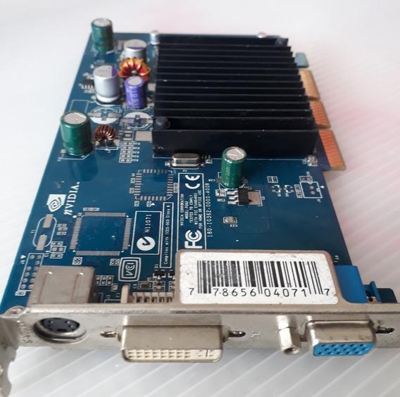 Placa De Vídeo Geforce 6200 128mb Agp 8x-ler Descrição -02