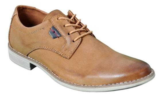 Zapato De Hombre Cuero Vestir Blood South 8928 Oferta Moda
