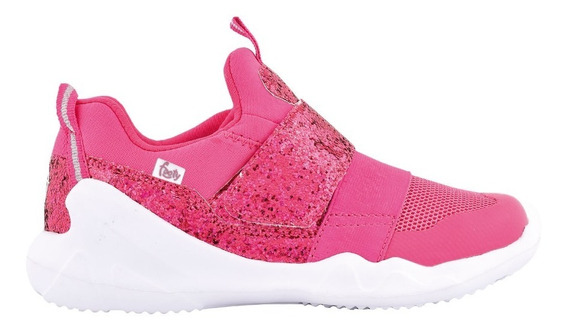 Zapatillas Flexy Fucsia Glitter Ultraliviana - Footyoficial