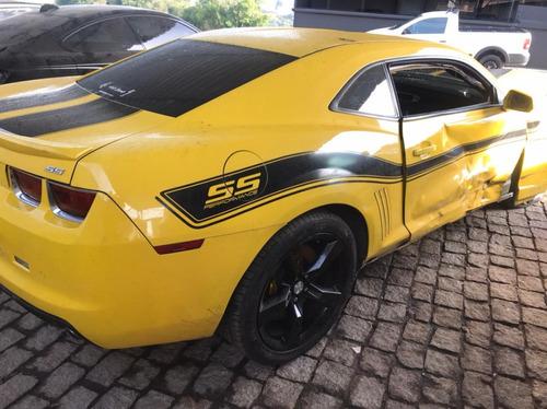 Imagem 1 de 10 de Chevrolet Camaro 6.2 V8 Ss 2p Sucata Motor Peças Acessórios