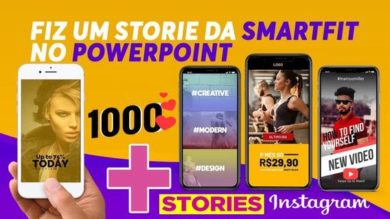 1000 Instagram Stories Templates Animados Powerpoint