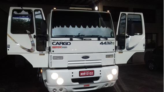Ford Cargo 4432 2007 Semi Leito (ñ Vw19320) Novo, Raridade!