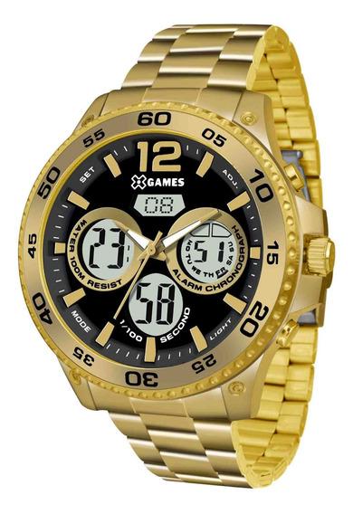 Relógio X Games Masculino Xmgsa005 P2kx Dourado - Refinado
