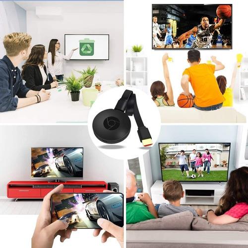 Reproduce Tu Celular En El Tv. Tv Dongle Lw77 Full Hd Hdm