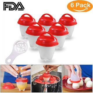 Hervidor De Huevos Silicone Egg Boil 6 Unidades
