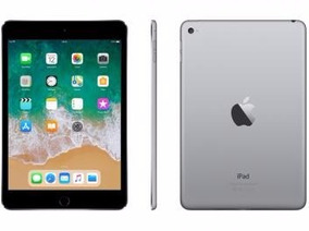 Ipad Mini 4 Apple 128gb Cinza Tela 7,9 Retina - Wi-fi Proces