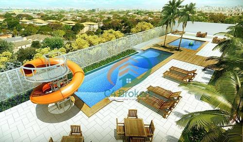 Imagem 1 de 24 de Apartamento À Venda, 61 M² Por R$ 370.000,00 - Vila Flórida - Guarulhos/sp - Ap0193