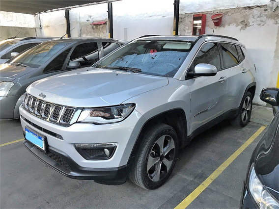Jeep Compass 2.4 Longitude Plus At9 4x4 Año 2017