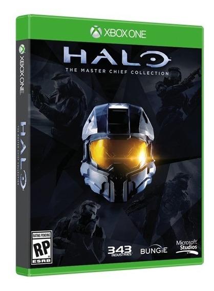 Jogo Halo The Master Chief Collection Xbox One Mídia Física