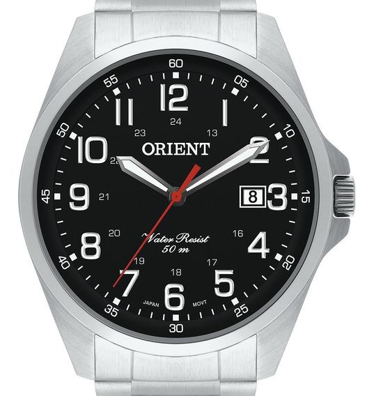 Relógio Orient Prateado Mbss1171 P2sx Masculino Original