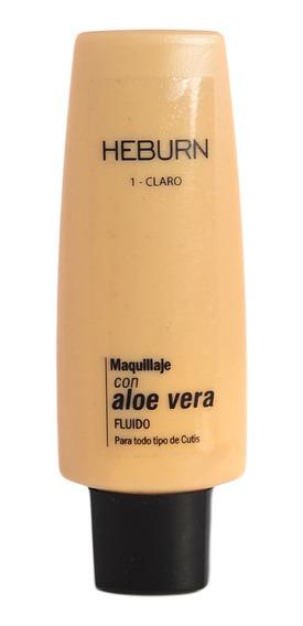 Heburn Profesional Base Maquillaje Con Aloe Vera Fluido 35gr