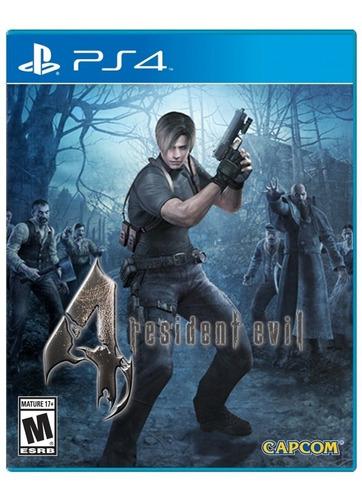 Imagen 1 de 2 de Resident Evil 4 Hd Ps4 Fisico Sellado Original Ade Ramos