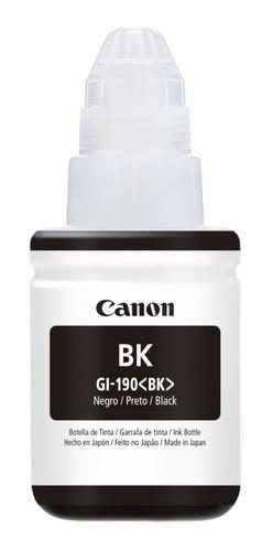Imagen 1 de 3 de Botella Tinta Gi 190bk Impresora Canon Pixma G2100 Y G3100