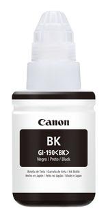Botella Tinta Gi 190bk Impresora Canon Pixma G2100 Y G3100