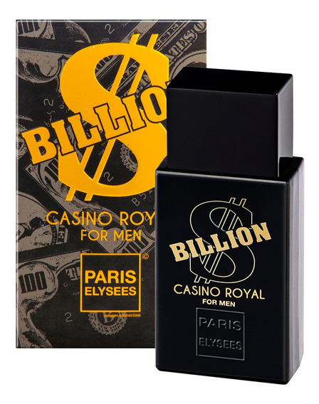 Perfume Billion Casino Royal 100ml - Paris Elysees