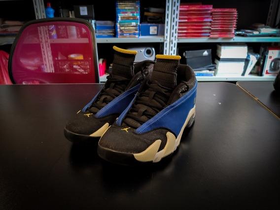 Tênis Air Jordan 14 Laney - X I V - Azul - 40.5 - Original