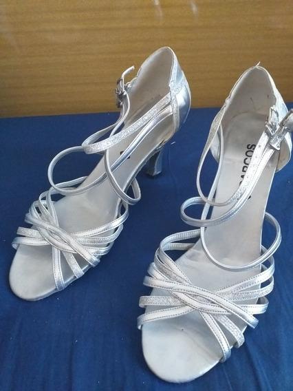 Zapatos De Tango, Salsa, Baile Darcos N40